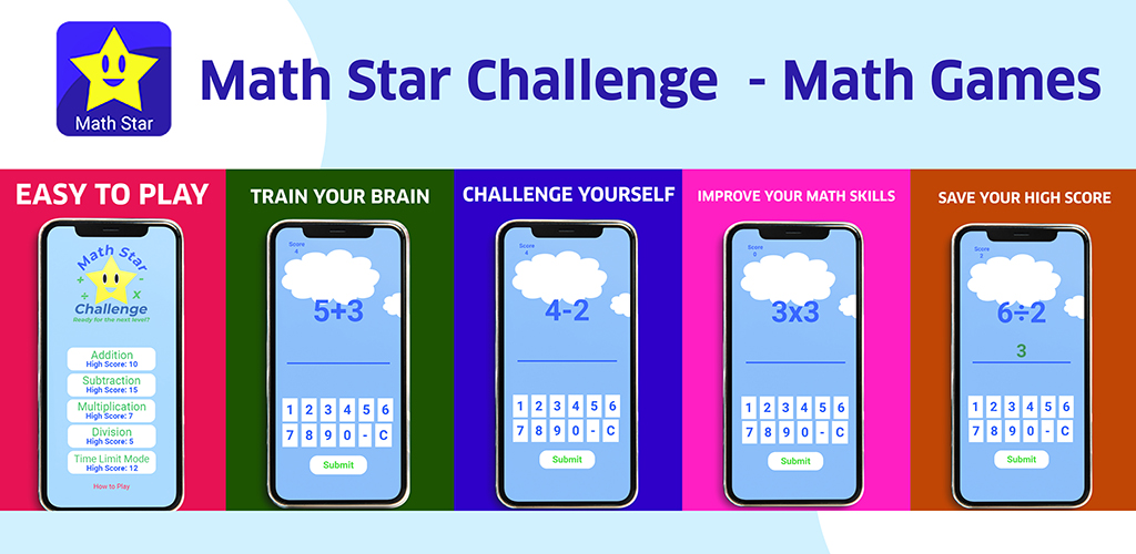 Math Star Challenge – Math Games